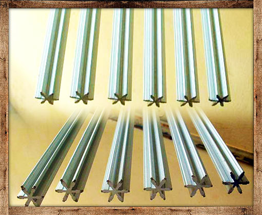 heat treating fixtures for bamboo fly rods